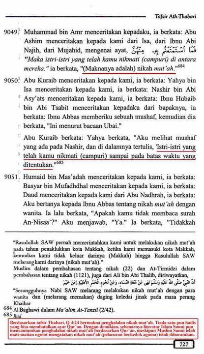 Ath-Thabari - surat an-nisaa 24 (727)