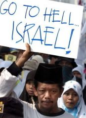Muslims Hate Israel