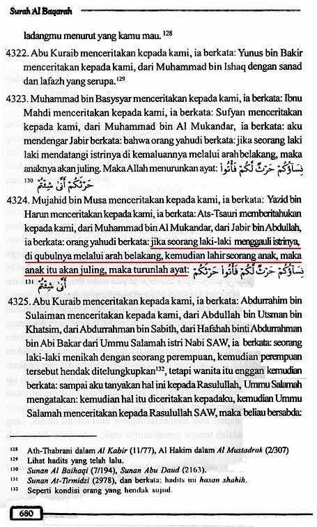 Tafsir Ath-Thabari QS2.223 Halaman 680