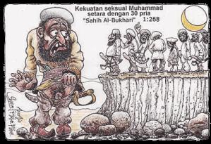 Kekuatan seks Muhammad setara 30 pria
