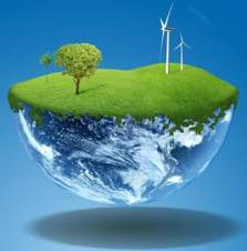 Ilustrasi Bumi datar