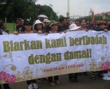 Demo Jemaat GKI Yasmin